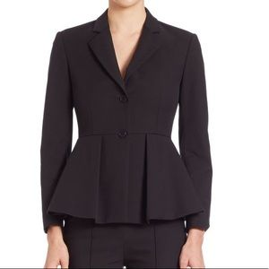 Theory Braneve Approach Peplum  Suit Jacket